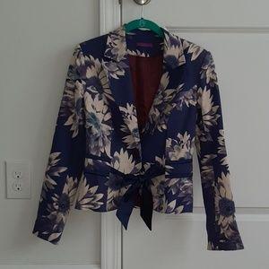 Festival flower lined jacket sz 4